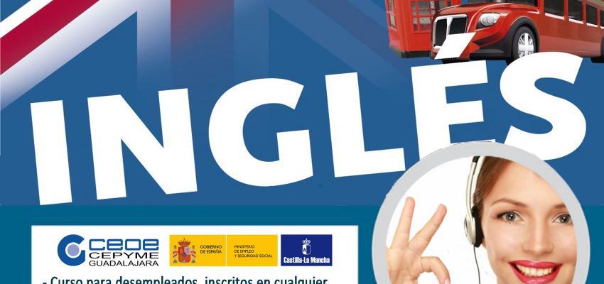 El inglés comercial, un nuevo curso del departamento de formación de CEOE-CEPYME Guadalajara