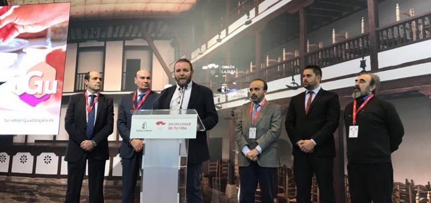 La Federación Provincial de Turismo promociona en Fitur los encantos de la provincia en el Día de Guadalajara