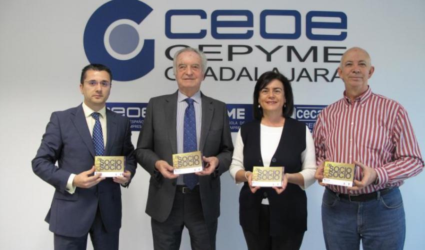 CEOE-CEPYME Guadalajara presenta la décima edición de la guía de empresas de socio a socio