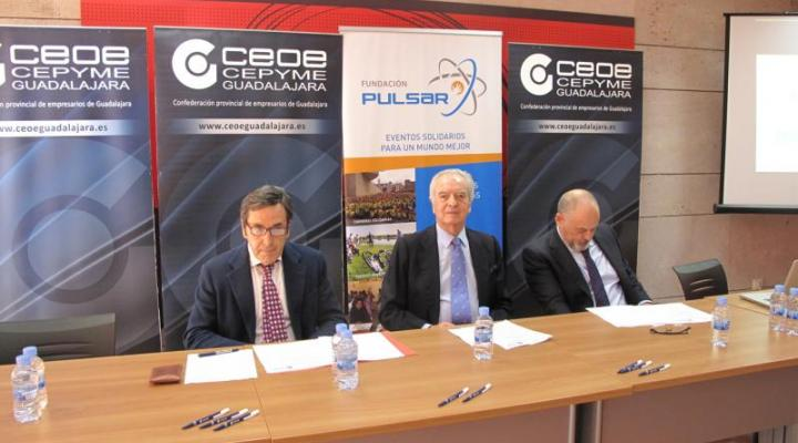 La logística inversa a debate en una jornada de la Fundación Pulsar  y la asociación provincial de Logística de CEOE-CEPYME Guadalajara