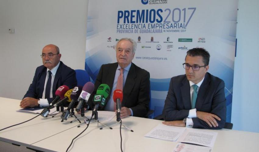Agustín de Grandes presenta los Premios Excelencia Empresarial 2017