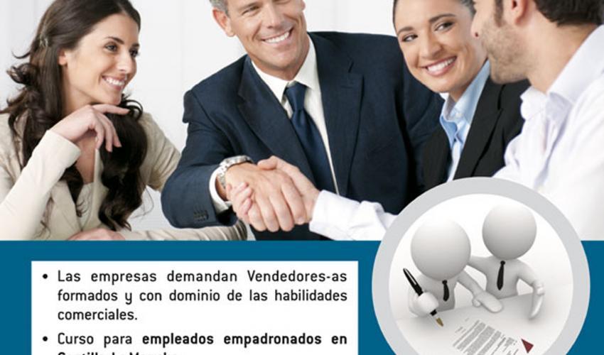 Abierto el plazo de inscripción para el curso de técnicas de ventas de CEOE-CEPYME Guadalajara