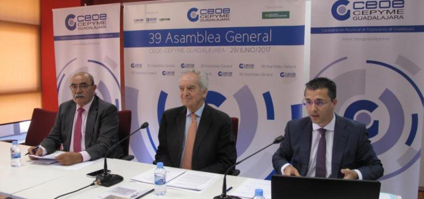 CEOE-CEPYME Guadalajara celebra su 39 Asamblea General