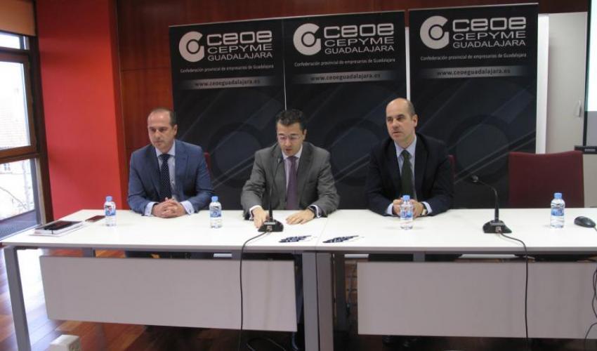CEOE-CEPYME Guadalajara y el Gobierno regional animan a las pequeñas empresas de la provincia a acogerse a las subvenciones de apoyo a la comercialización