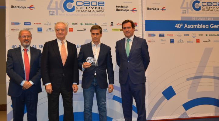 CEOE-CEPYME Guadalajara celebra su 40 Asamblea General con el reconocimiento a diferentes personas, empresas  e instituciones colaboradoras