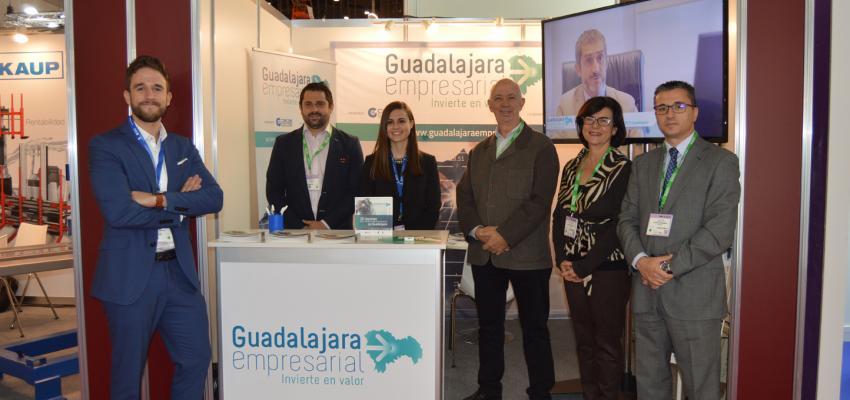 &#x201CGuadalajara Empresarial&#x201D promociona en la feria Logistics & Distribution las ventajas empresariales de la provincia
