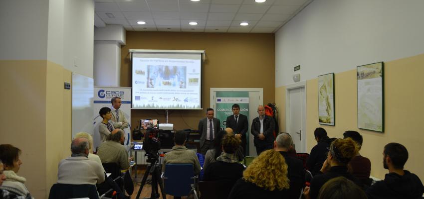 La Federación provincial de Turismo de CEOE-CEPYME Guadalajara se traslada a Molina para impartir un curso de comercialización turística de casas rurales