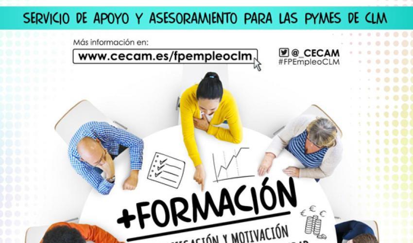 CEOE-CEPYME Guadalajara asesorará a las empresas de la provincia sobre la formación profesional para el empleo