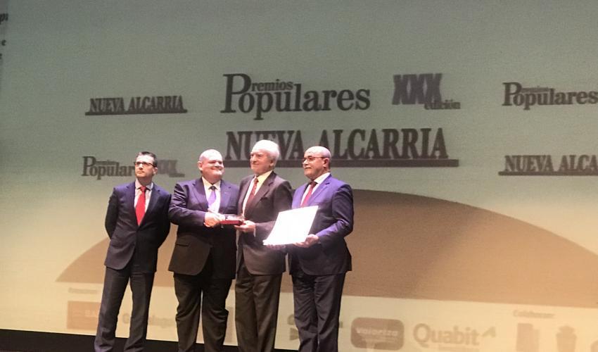 CEOE-CEPYME Guadalajara recibe el popular Nueva Alcarria en la categoría de Empresa