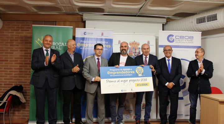 Finaliza el programa de apoyo a emprendedores de la provincia, impulsado por CEOE-CEPYME Guadalajara