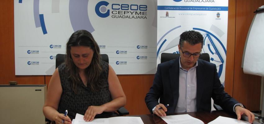 Dixguada y el AMPA Campiña Verde de Alovera, se unen al proyecto de Socio a Socio&#x201D de CEOE-CEPYME Guadalajara