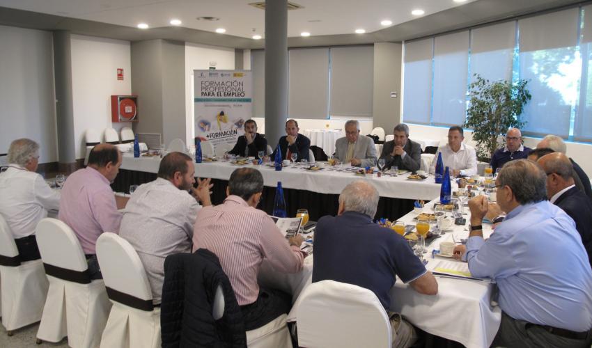 CEOE-CEPYME Guadalajara celebra un encuentro informativo sobre la formación profesional para el empleo