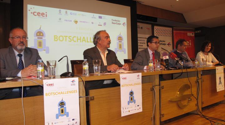16 centros educativos de toda la provincia, participan en la II competición de robótica: Botschallenges de la provincia de Guadalajara del CEEI alcarreño y la Fundación Ibercaja