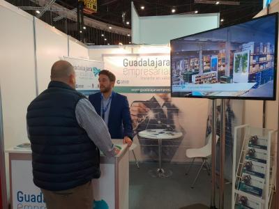 Éxito de visitas del stand de &#x201CGuadalajara Empresarial&#x201D de la feria Logistics & Distribution