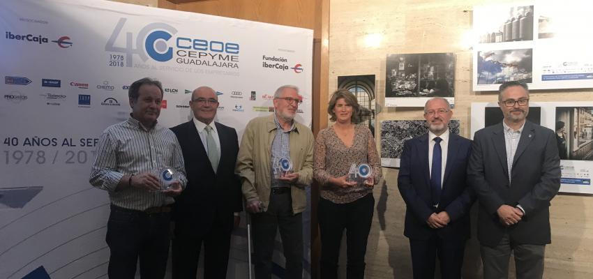 CEOE-CEPYME Guadalajara entrega los premios de su concurso de fotografía empresarial 40 aniversario