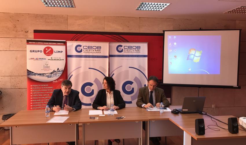 La Asociación Provincial de Limpieza (APELIGU), se presenta en sociedad con la celebración de una jornada