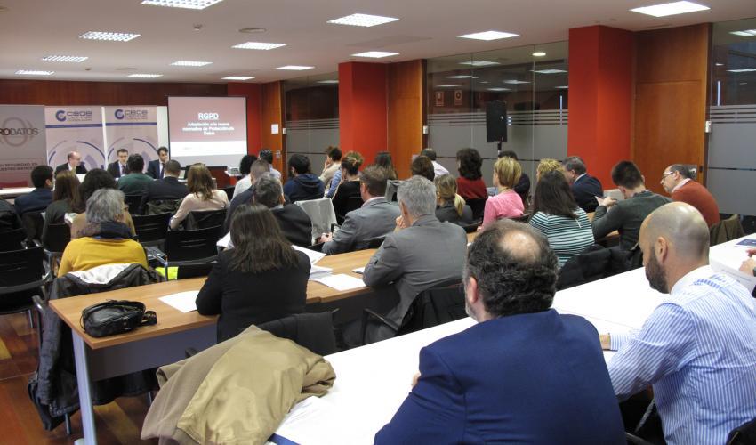 El nuevo Reglamento Europeo de Protección de Datos a examen en una nueva jornada de CEOE-CEPYME Guadalajara