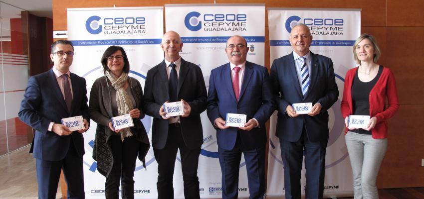 CEOE-CEPYME Guadalajara presenta la Guía de empresas de Socio a Socio 2018