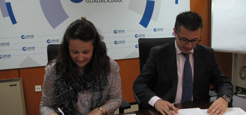 El AMPA César Bona de Alovera se une al proyecto de Socio a Socio&#x201D de CEOE-CEPYME Guadalajara