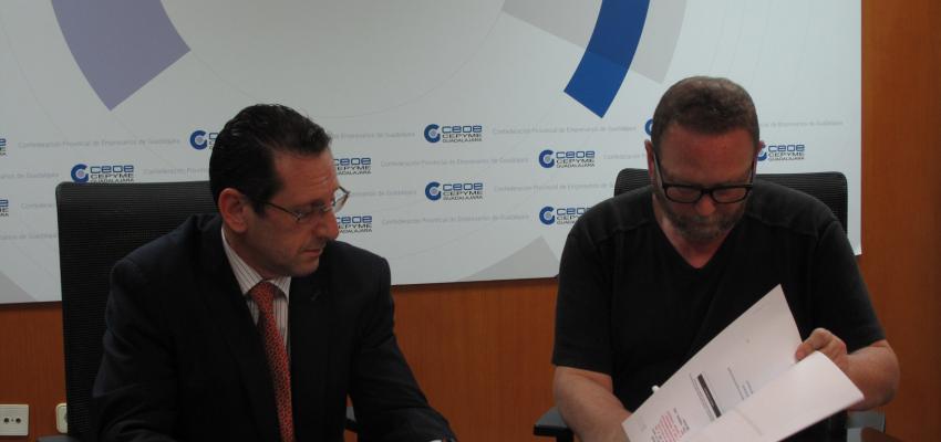 La Federación provincial de Turismo firma un convenio de colaboración con la SGAE