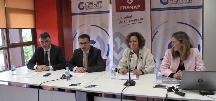 CEOE-CEPYME Guadalajara realiza, junto con FREMAP, una jornada sobre la aplicación de la norma ISO 45001
