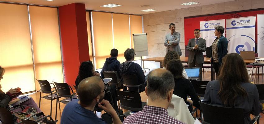 Los empresarios aprenden como utilizar YouTube para exportar de la mano de CEOE-CEPYME Guadalajara