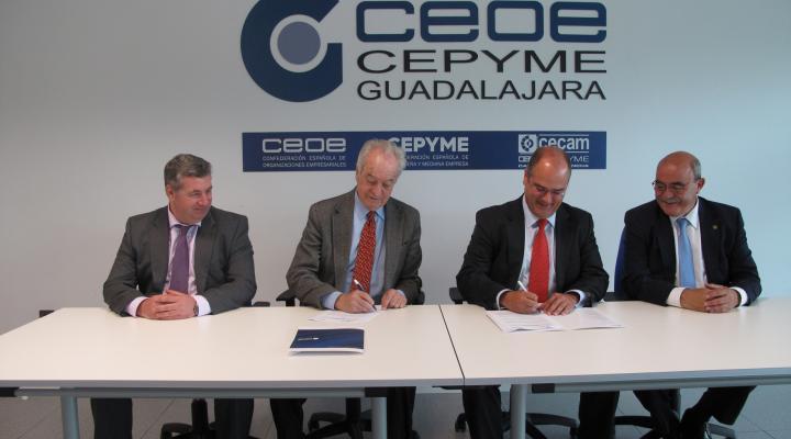 NEDGIA Castilla-La Mancha patrocinará uno de los Premios Excelencia Empresarial de Guadalajara