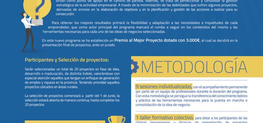 3.000 euros al mejor proyecto participante del programa de apoyo a emprendedores de la provincia, impulsado por CEOE-CEPYME Guadalajara