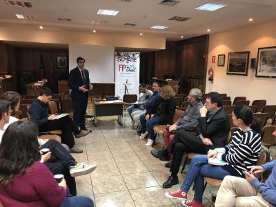 Empresarios alcarreños se informan de la FP dual en un nuevo encuentro de GuadaNetWork