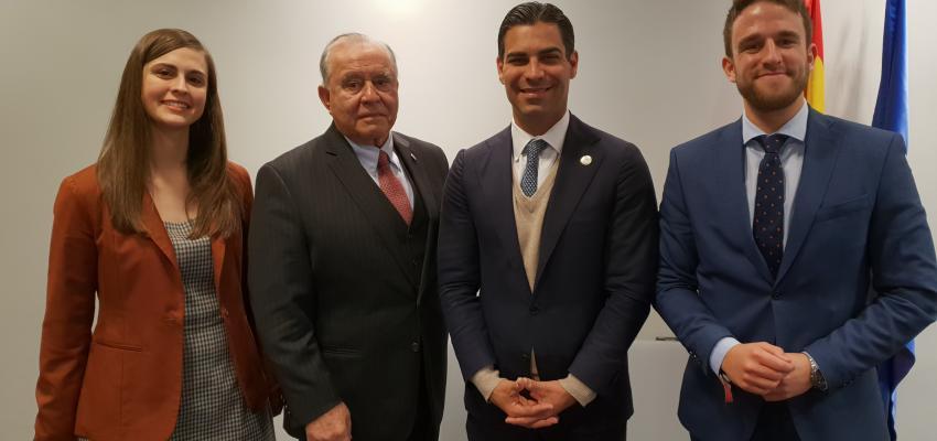 &#x201CGuadalajara Empresarial&#x201D presente en un encuentro con el alcalde de Miami, Francis Suárez