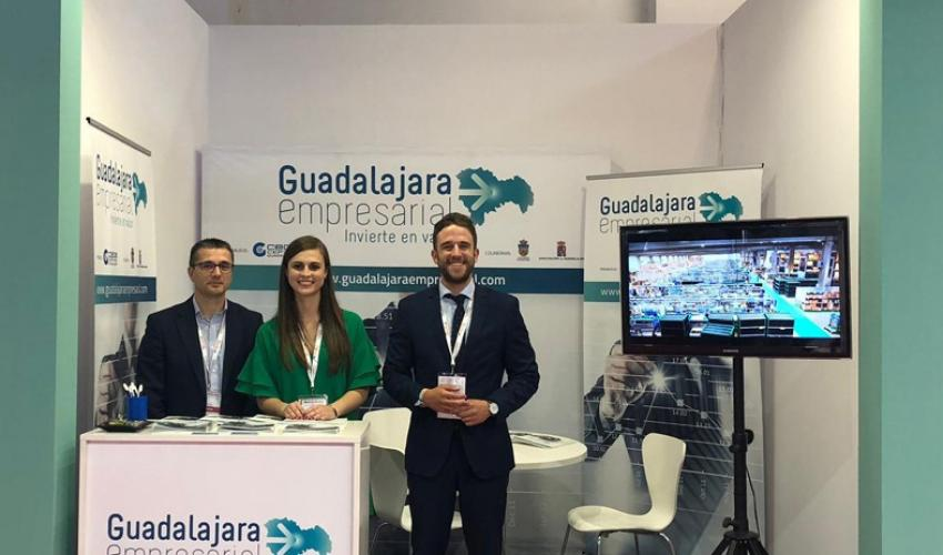 """Éxito de visitas del stand de """"Guadalajara Empresarial"""" en la feria SIL Barcelona 2019"""
