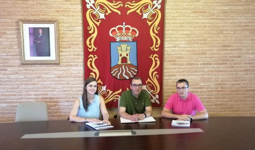 CEOE-CEPYME Guadalajara mantiene una reunión de trabajo con el alcalde de Cifuentes