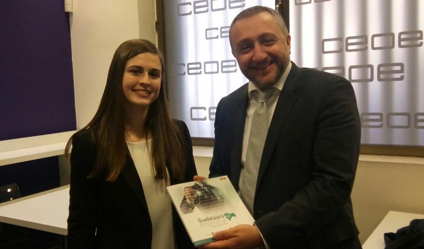 'Guadalajara Empresarial' se reúne con el embajador de Georgia en España, Ilia Giorgadze