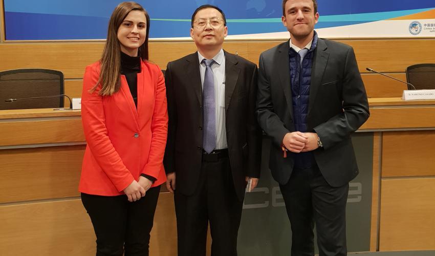 """""""Guadalajara Empresarial"""" presente en un encuentro con el viceministro de Comercio de China, Wang Bingnan"""