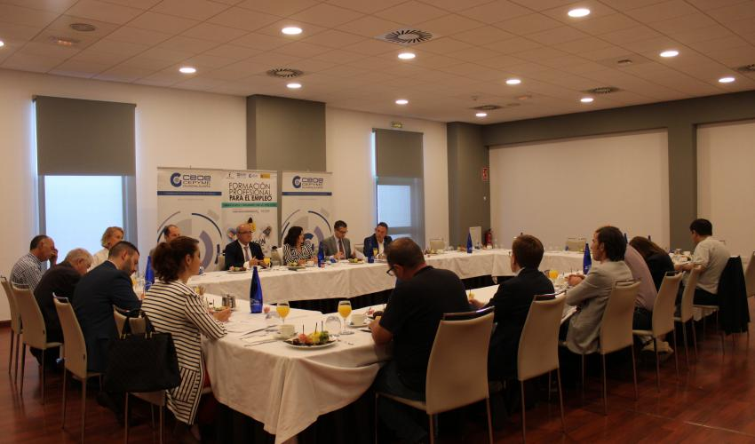 CEOE-CEPYME Guadalajara celebra un nuevo encuentro informativo sobre la formación profesional para el empleo