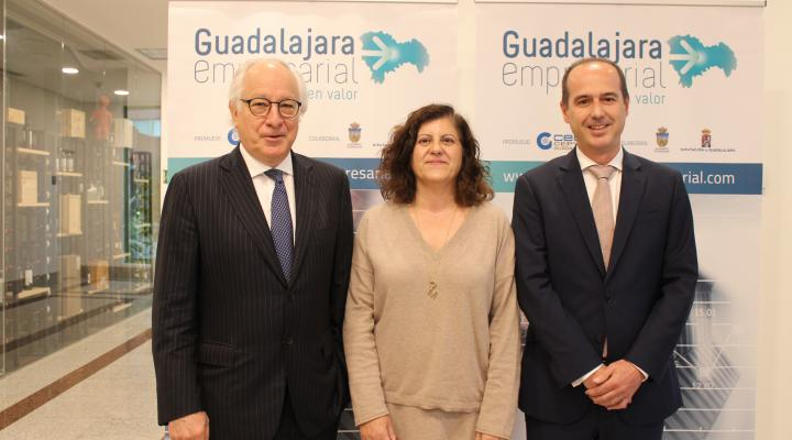 Juan María Nin Génova cierra el ciclo de desayunos económicos de 'Guadalajara Empresarial' 2019 con aforo completo