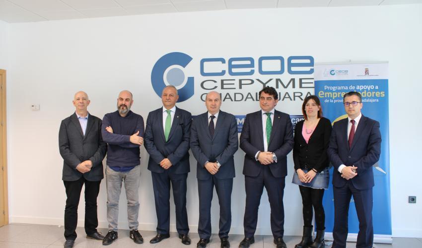 CEOE-CEPYME Guadalajara pone en marcha la segunda edición del programa de apoyo a emprendedores de la provincia de Guadalajara