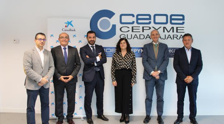 CEOE-CEPYME Guadalajara y CaixaBank renuevan su convenio de colaboración