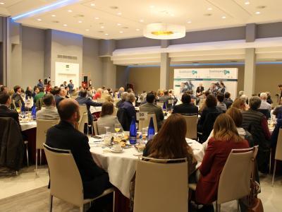 Carlos Rodríguez Braun inaugura el ciclo de desayunos económicos de &#x2018Guadalajara Empresarial&#x2019 con aforo completo