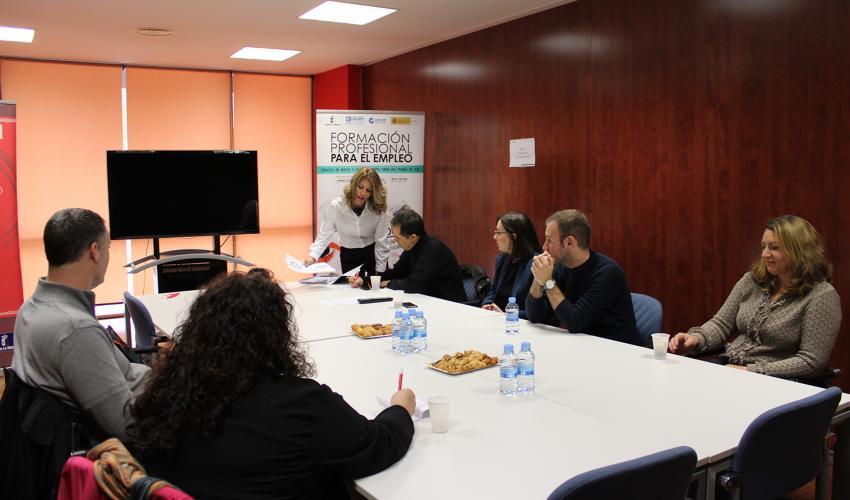 Empresarios de Guadalajara se interesan por la Formación Profesional para el Empleo
