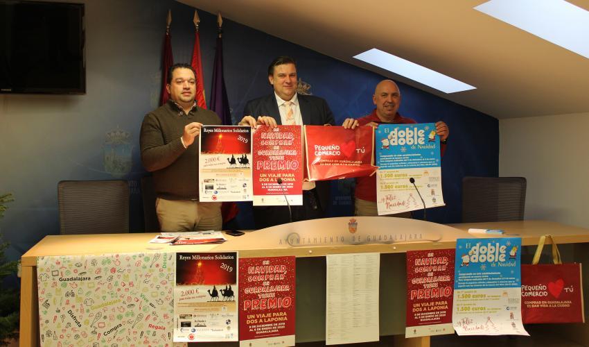 FEDECO participa en la campaña de Navidad del Ayuntamiento de Guadalajara