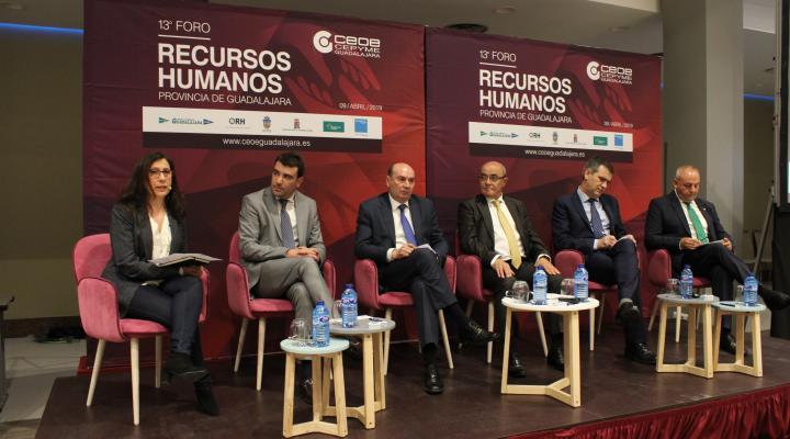 El  Foro de Recursos Humanos de CEOE-CEPYME Guadalajara cuelga el cartel de completo con 400 asistentes