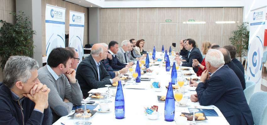 La Junta Directiva de CEOE-CEPYME Guadalajara se reúne con Francisco Nuñez, presidente del PP de CLM para trasladarle las demandas empresariales de la provincia de Guadalajara