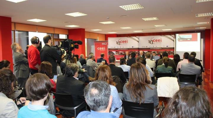 Agustín de Grandes presenta los actos conmemorativos del 10º aniversario del CEEI de Guadalajara