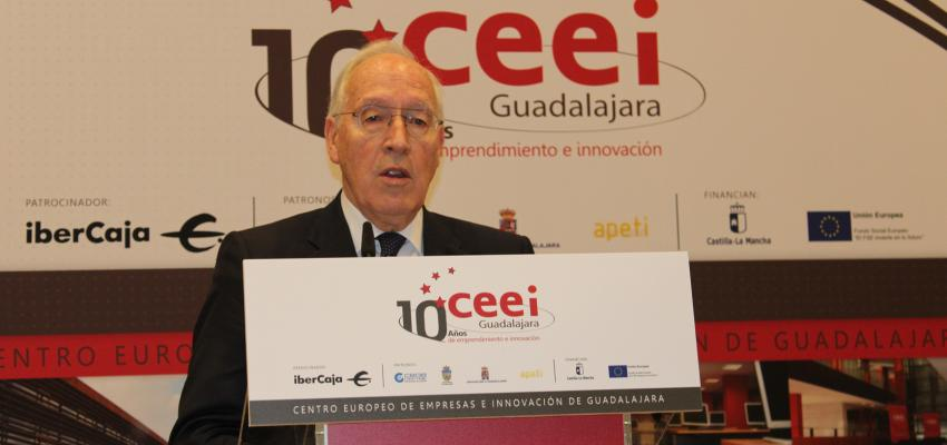 Manuel Pizarro inaugura los actos del 10º aniversario del CEEI de Guadalajara