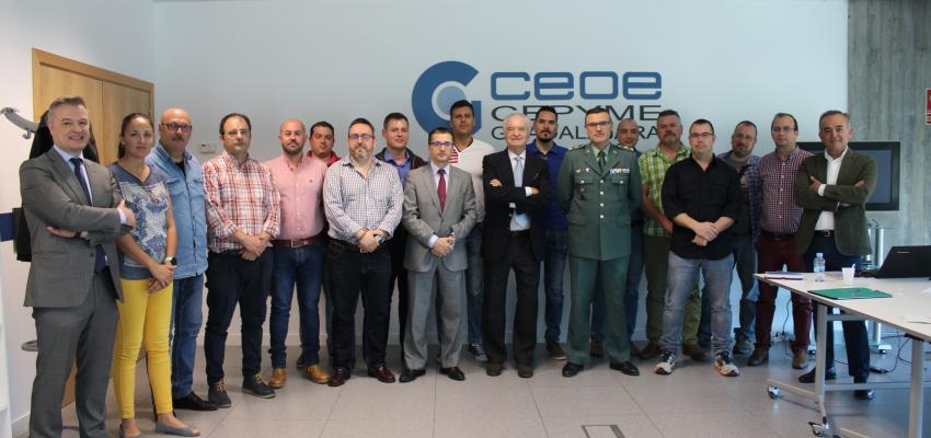 CEOE-CEPYME Guadalajara y la Comandancia de la Guardia Civil de Guadalajara, colaboran para formar a los suboficiales en materia de liderazgo y gestión de personas