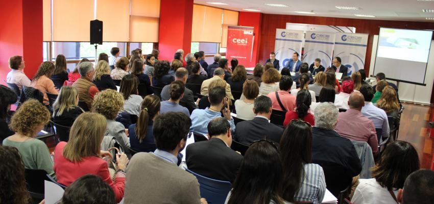 Gran éxito de participación en la jornada sobre novedades legislativas en materia laboral organizada por CEOE-CEPYME Guadalajara