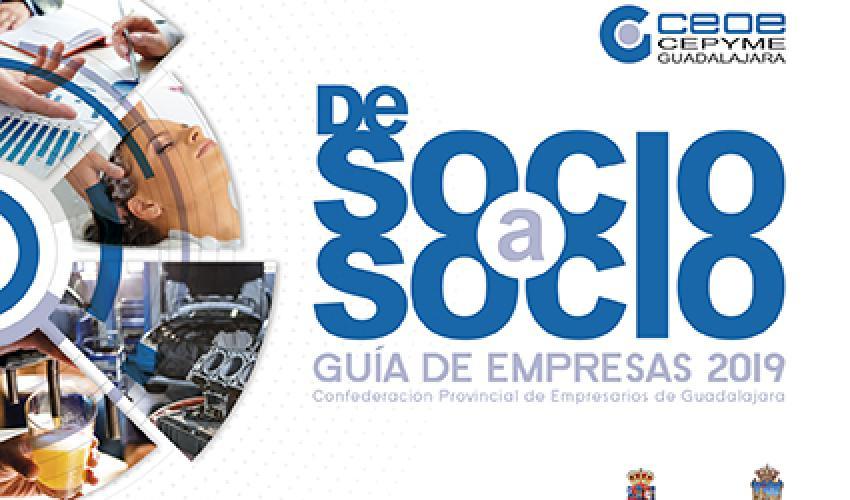 CEOE-CEPYME Guadalajara prepara la guía de empresas de Socio a Socio 2020