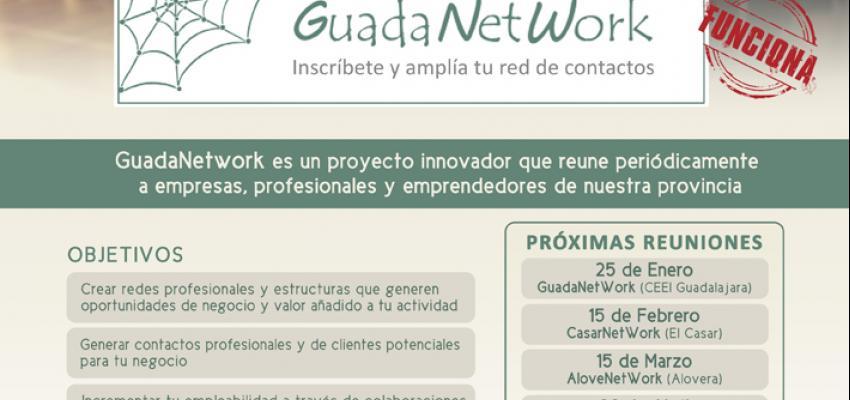 GuadaNetWork prepara  seis nuevos encuentros para el primer semestre de 2019, con el objetivo de seguir acercando empresas