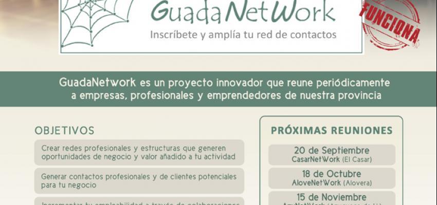 GuadaNetWork programa cuatro nuevos encuentros para el último cuatrimestre del año